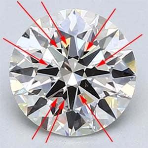 Blue Nile GIA Excellent cut diamond.