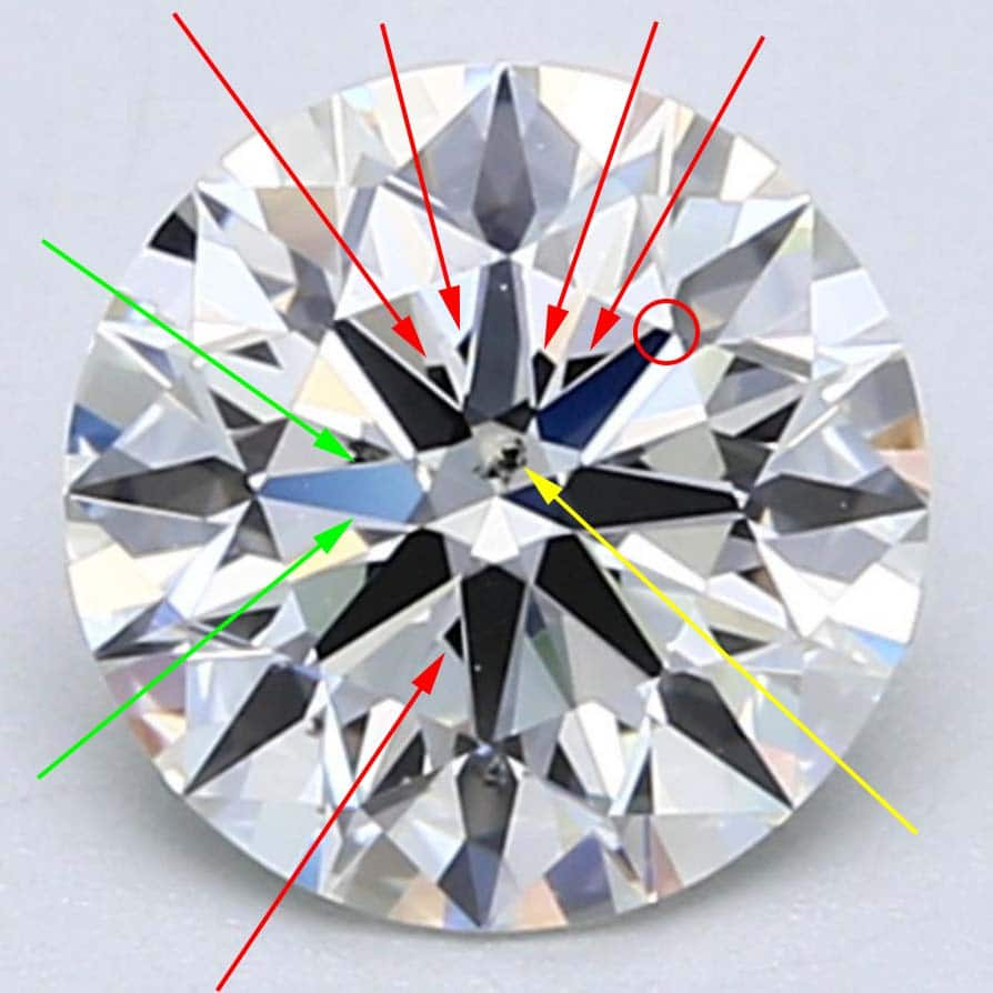GIA Excellent cut diamond.