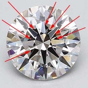 GIA Excellent Cut diamond Blue Nile.