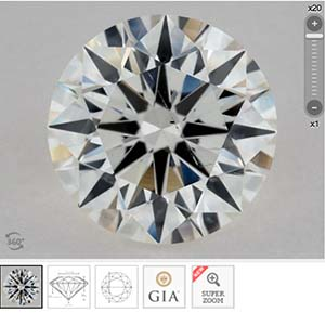 James Allen Diamond Reviews, SKU 2614055, GIA 2237056213, GIA Excellent vs Very Good cut
