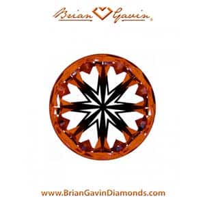 Big Diamond Rings, 8.10 carat, Brian Gavin Signature Hearts and Arrows Diamond, AGS 104082870001