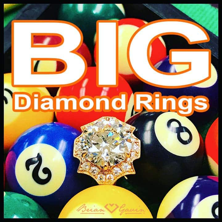 Big Diamond Rings, 810 Collection by Brian Gavin reviews, cool shots
