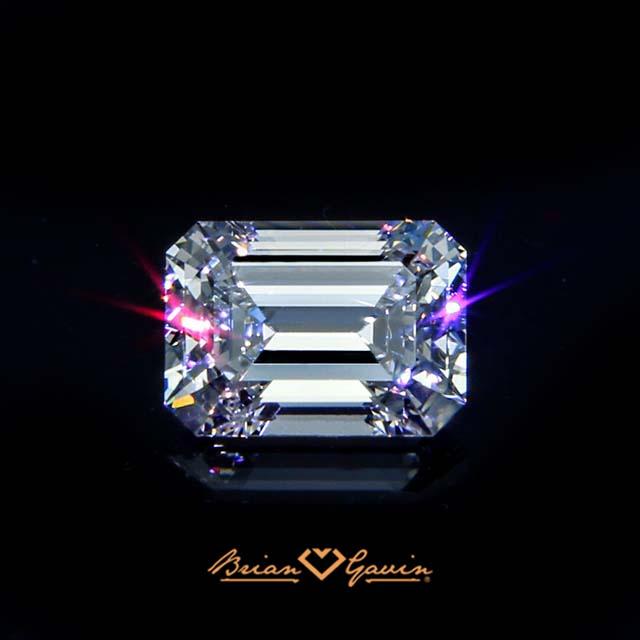 Brian Gavin Signature Emerald cut diamond, brilyens brilliance like no other