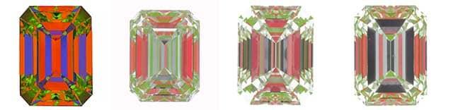 Brian Gavin Signature Emerald versus GIA Excellent cut