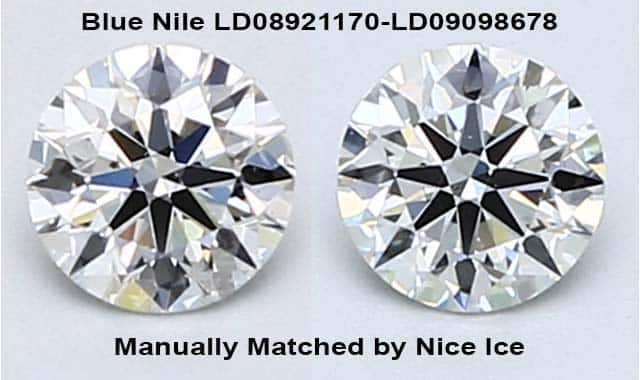 How to Search Blue Nile for Diamond Stud Earrings, LD08921170-LD09098678