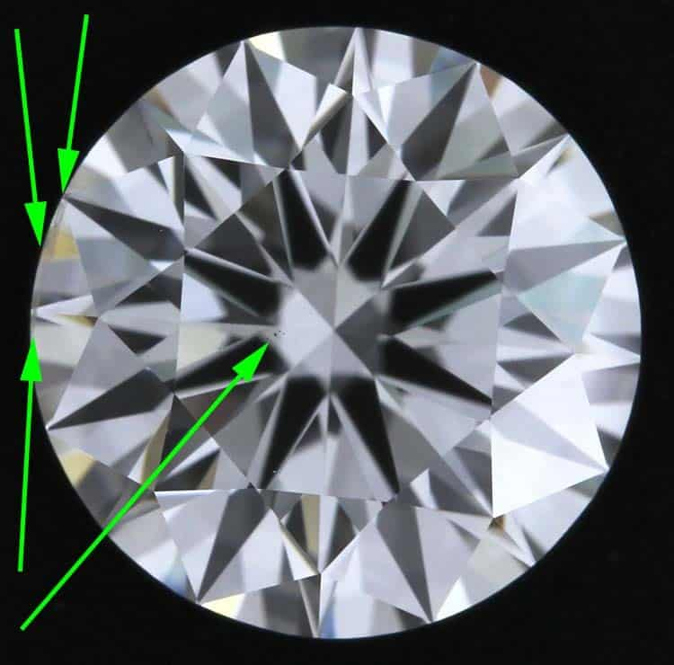 Allurez diamond reviews, GIA Excellent cut 2101356661