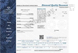 James Allen Ideal Cut diamond review, AGS 104089442008