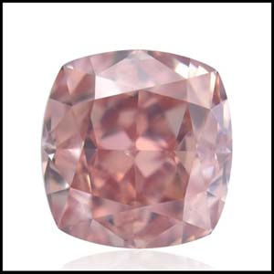 Fancy Intense Pink Cushion Cut Diamond from Brian Gavin, 344105-ee808