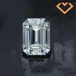 Black by Brian Gavin Emerald Cut Diamond review, AGS 104102553005