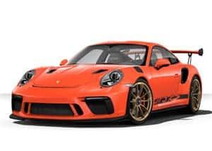 Porsche 911 GT3 RS in Brian Gavin Orange