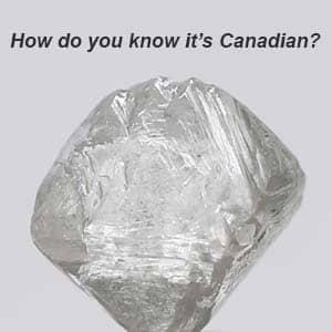 Canadamark Canadian Diamond Rough