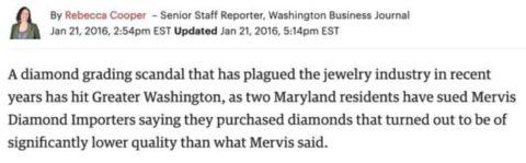 EGL Diamond Lawsuit Grading Scandal.