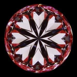 Hearts image for Blue Nile Canadamark diamond