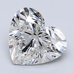 Heart shape diamond.