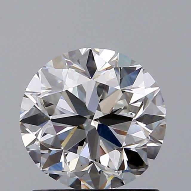 Round diamond symmetry good.