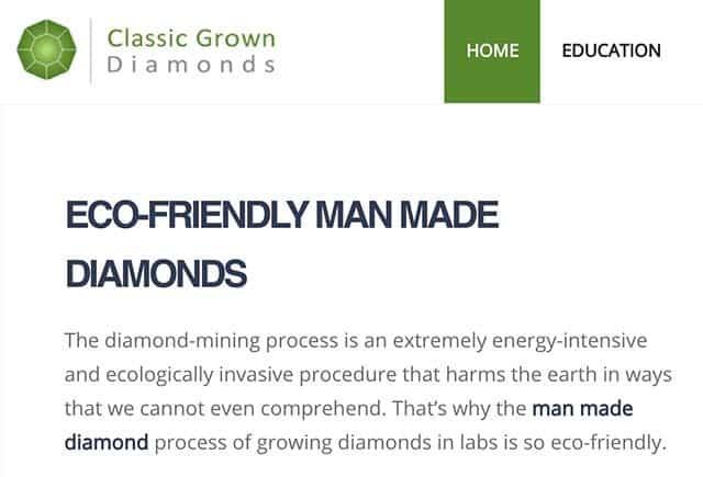 Classic Grown Diamonds