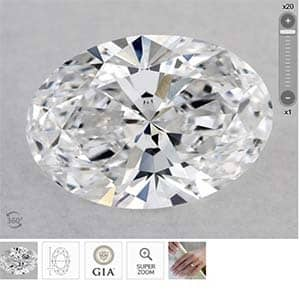 Oval Brilliant Diamond