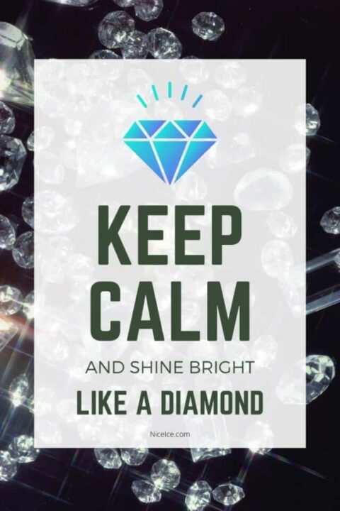 Keep Calm Diamond