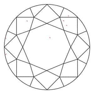 Crown Round Diamond