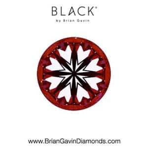 Black by Brian Gavin 2-carat diamond ring