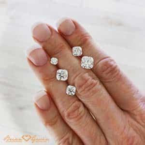 Brian Gavin Signature Cushion Cut Diamonds
