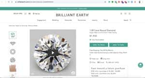 Brilliant Earth Diamond Prices