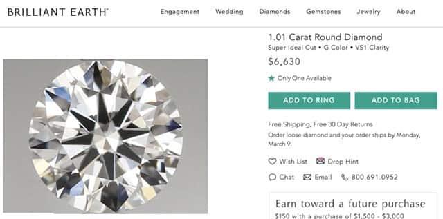 Brilliant Earth Diamonds Review