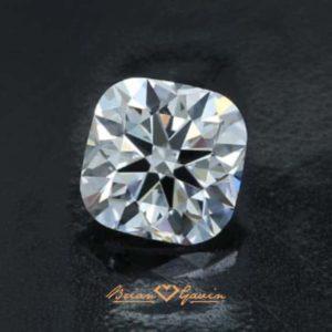 Black by Brian Gavin Cushion cut diamond