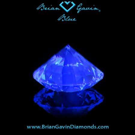Brian Gavin Blue Fluorescent diamond