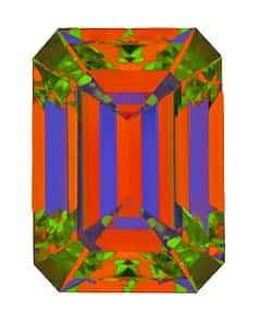 ASET Brian Gavin Signature Emerald Cut Diamond
