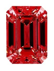 Ideal Scope Brian Gavin Signature Emerald Cut Diamond