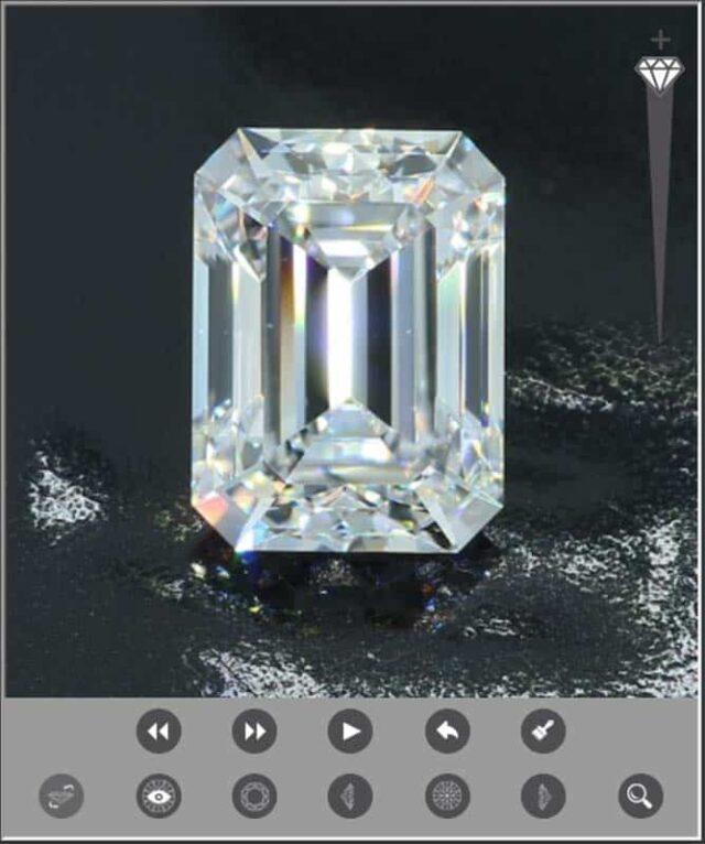 Brian Gavin Signature Emerald Cut Diamond