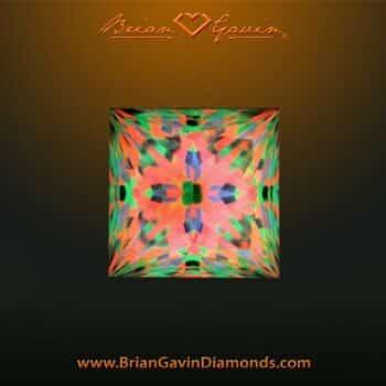 Brian Gavin Signature Princess 3-chevron facets