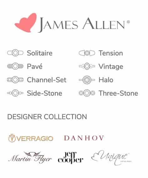 James Allen Diamond Engagement Rings