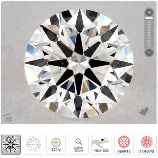 Are SI1 Clarity Diamonds Eye Clean?
