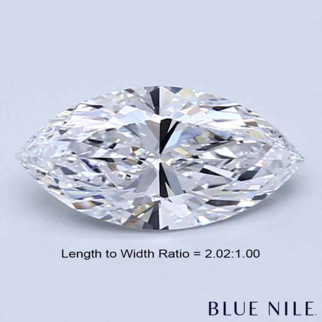 Length to Width Ratio of 2.00:1.00
