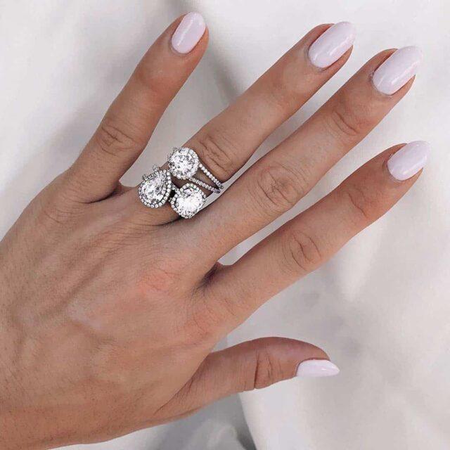 Halo Diamond Engagement Rings.