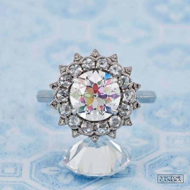 Old European Cut Round Diamond Victor Canera OEC