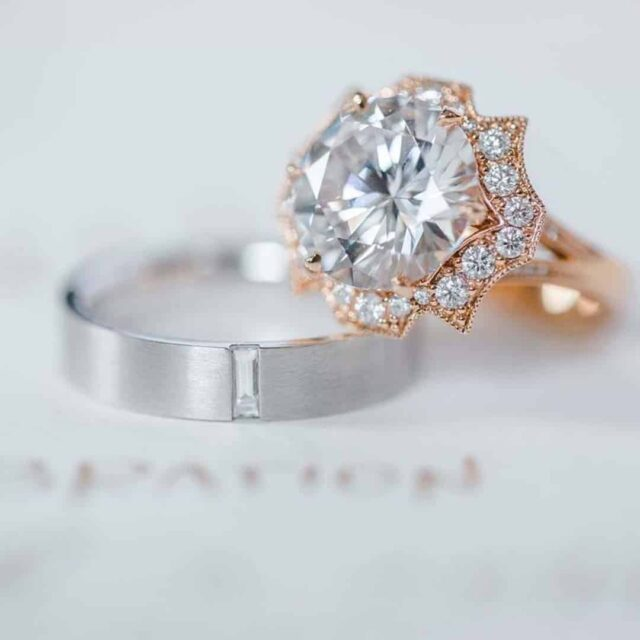 Brian Gavin Ideal Cut Diamonds 810 Collection.