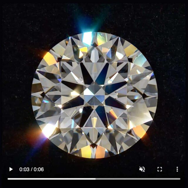 AGS Ideal Diamond Symmetry Black by Brian Gavin.