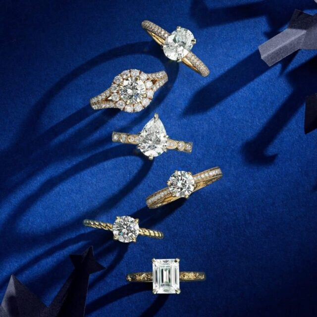 Blue Nile Studio Engagement Rings.