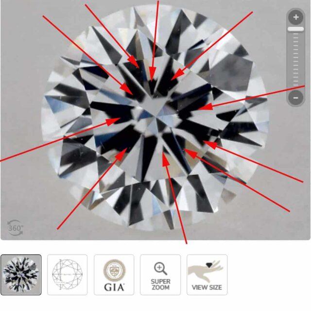 Example of Good Diamond Symmetry James Allen.