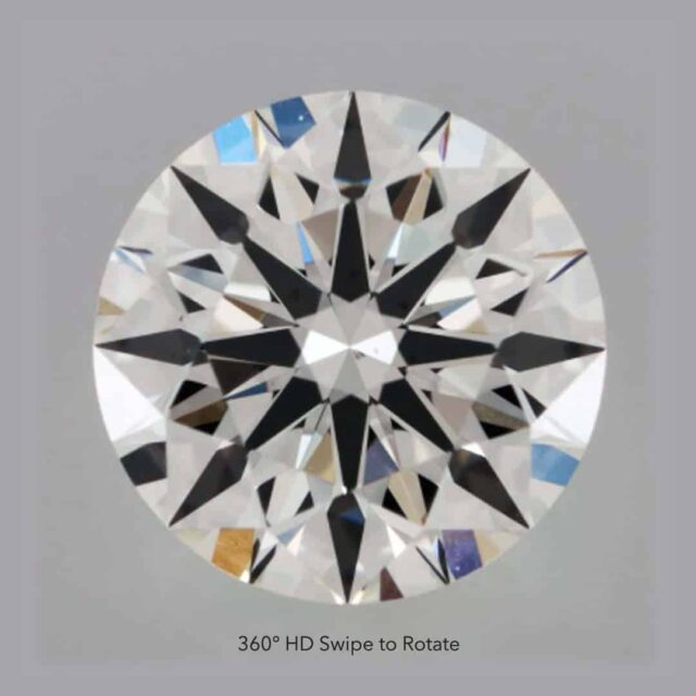Victor Canera Hearts and Arrows diamond.
