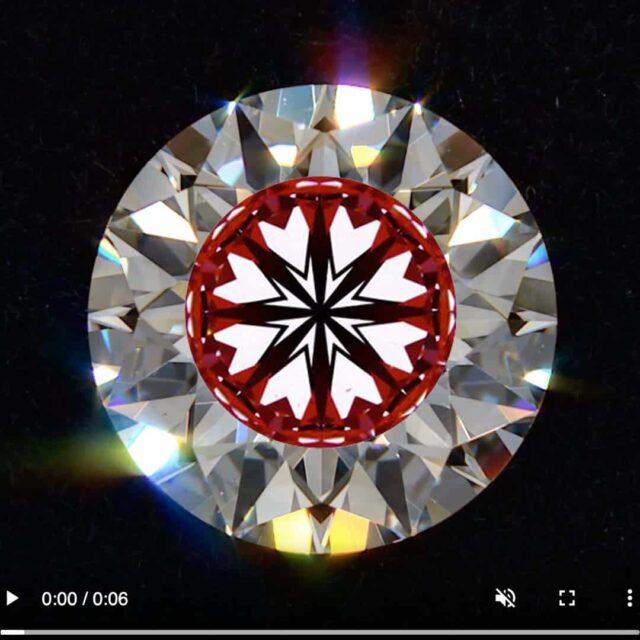 Black by Brian Gavin Hearts and Arrows Diamonds.