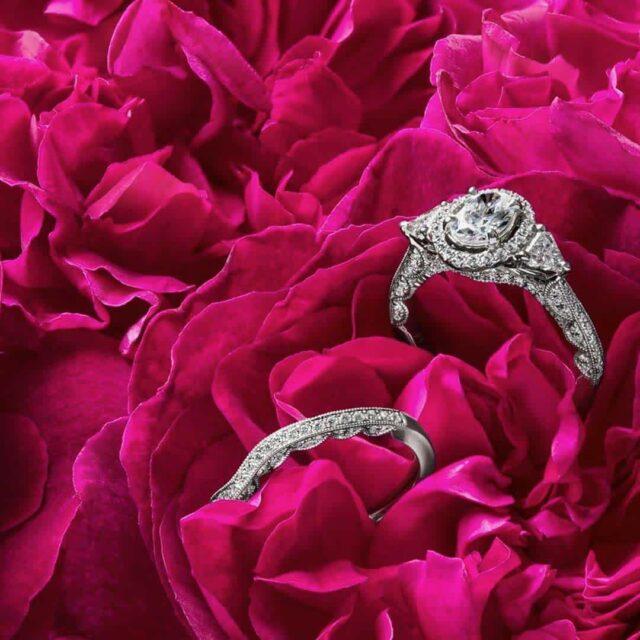Monique Lhuillier Diamond Engagement Rings.