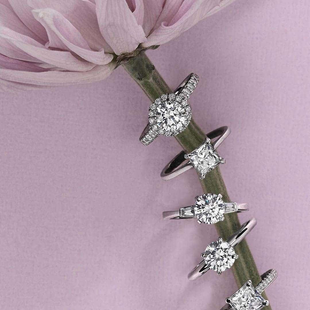 Blue Nile Studio Diamond Engagement Rings.