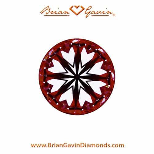 Brian Gavin Signature Hearts and Arrows diamonds.