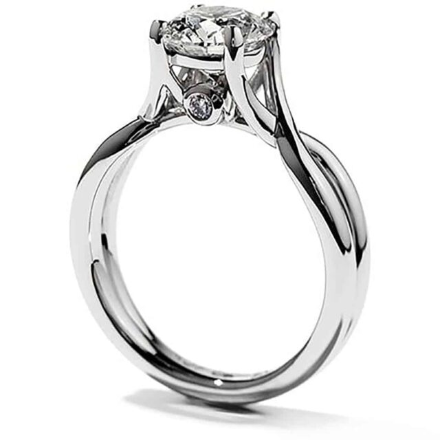 Hearts on Fire Diamonds Timeless Solitaire.