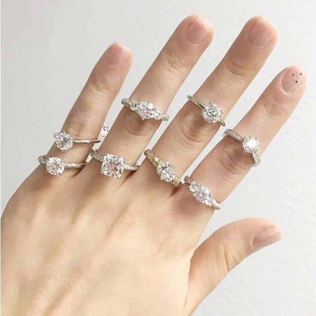 Designer Engagement Rings from Brian Gavin.