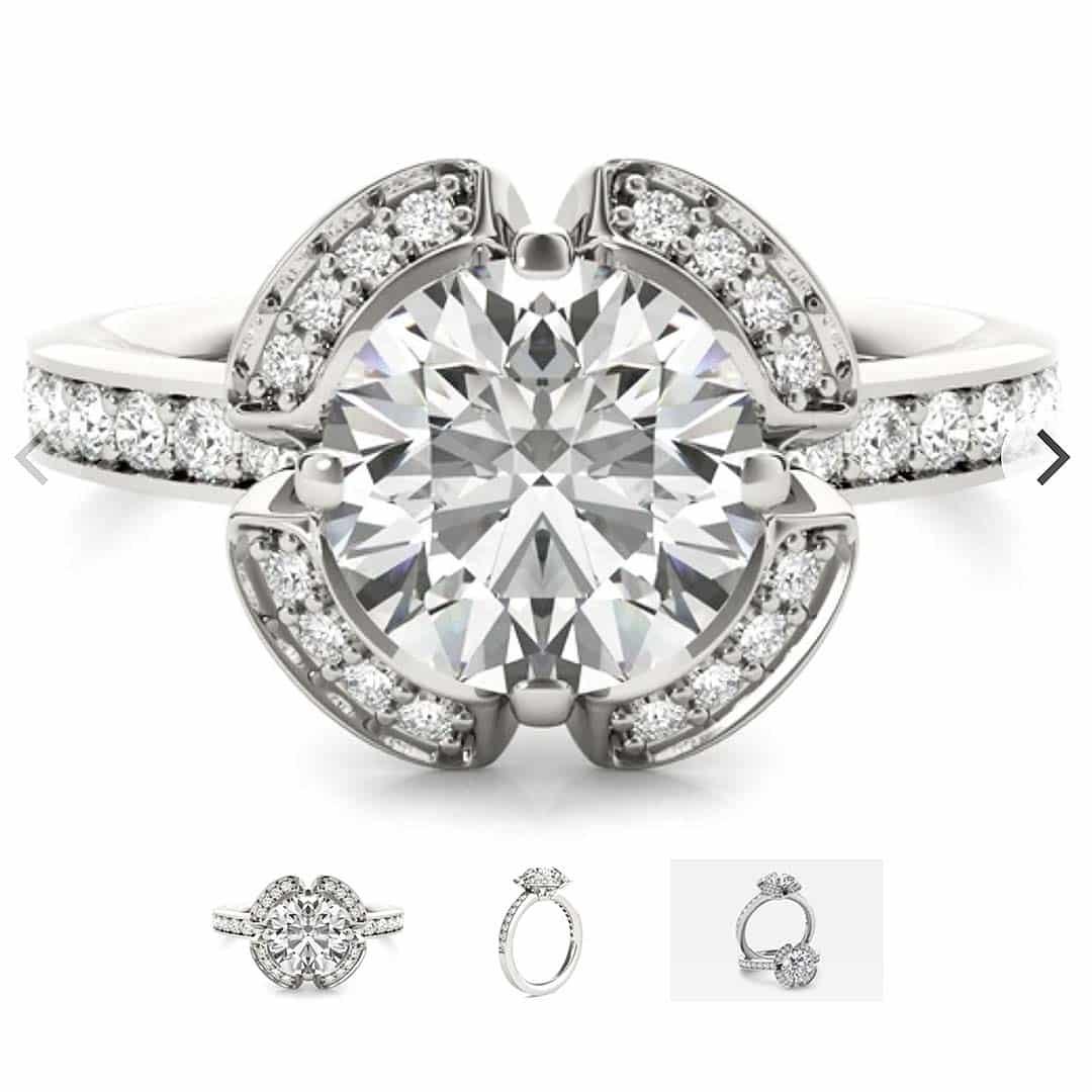 Vintage Inspired Ritani Engagement Rings.
